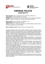 ANDREA FELICE - Archiwatch