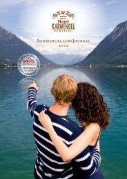 sommerpreIse 2011 - Hotel Karwendel