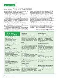 22 Aktuellt i förbundet - Välkommen till Reumatikertidningens arkiv