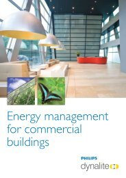 Energy management for commercial buildings - Philips Lighting