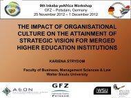 Organisational culture - Inkaba.org