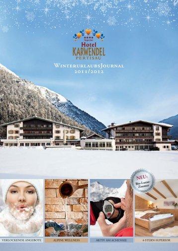 WinterurlaubsJournal 2011/2012 - Hotel Karwendel