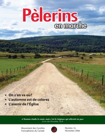 Pèlerins d'ailleurs - Mouvement des Cursillos Francophones