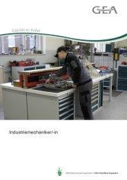 Industriemechaniker/-in - GEA Westfalia Separator Group