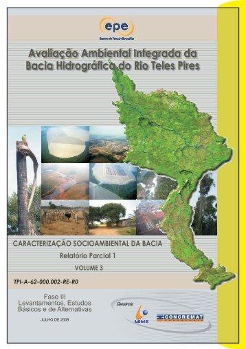 Avaliação Ambiental Integrada da Bacia Hidrográfica do Rio ... - EPE