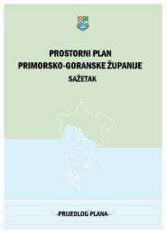 Sažetak - zavod pgz - Primorsko-goranska županija