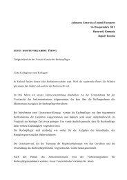 Adunarea Generala a Uniunii Europene 14-18 ... - Meridian