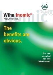 Wiha Inomic® The benefits are obvious. - KAVON CZ sro