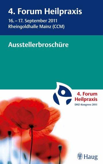 4. Forum Heilpraxis