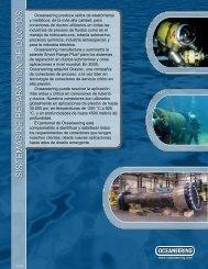 SISTEMAS DE REP ARACION DE DUCT OS - Oceaneering