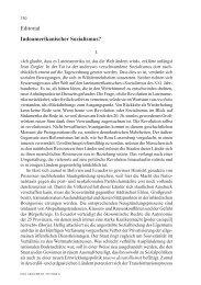 Editorial Indoamerikanischer Sozialismus? - Wolfgang Fritz Haug