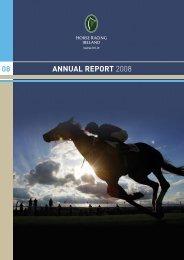 ANNUAL REPORT 2008 08 - Horse Racing Ireland