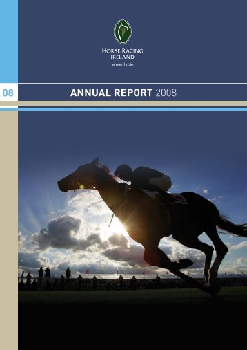 ANNUAL REPORT 2008 08 - Horse Racing Ireland