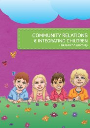Community Relations & Integrating Children - Derry City Council
