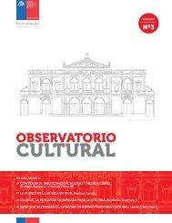 CULTURAL - Consejo de la Cultura y las Artes