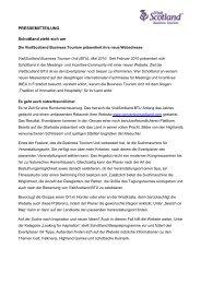 Neue Deutsche Website! - Conventionscotland.com
