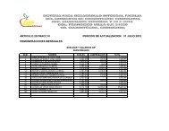 articulo 20 fracc iii periodo de actualizacion: 31 julio 2012 ...