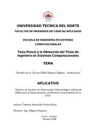 Mapeo Objeto Relacional - Repositorio UTN