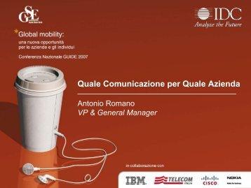 Presentazione di PowerPoint - Guide Share Italia