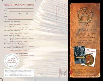 F D Wm - Jungian Psychotherapists Association
