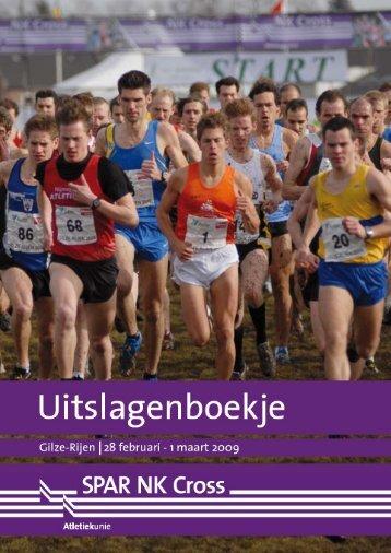 Nederlandse kampioenschappen veldloop, 28 februari-1 maart (.pdf)