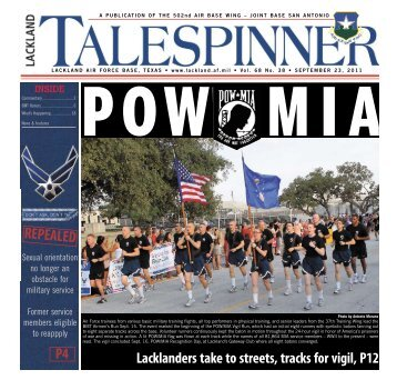 A PUBLICATION OF THE 502nd AIR BASE WING - San Antonio News
