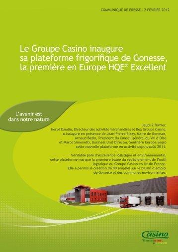 Télécharger le communiqué - Groupe Casino