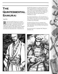 The Quintessential Samurai - z