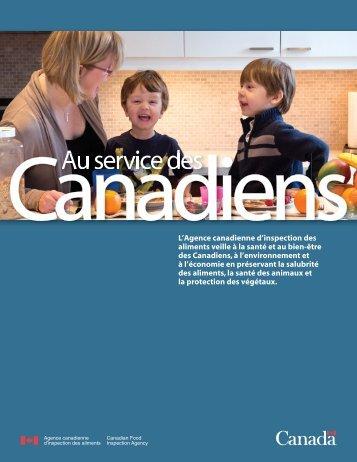 PDF (5 890 ko ) - Agence canadienne d'inspection des aliments