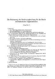 Ress: Die Bedeutung der Rechtsvergleichung für das Recht ...
