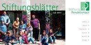 Juli 2011 (PDF, 726 KB) - Stiftung Persönlichkeit