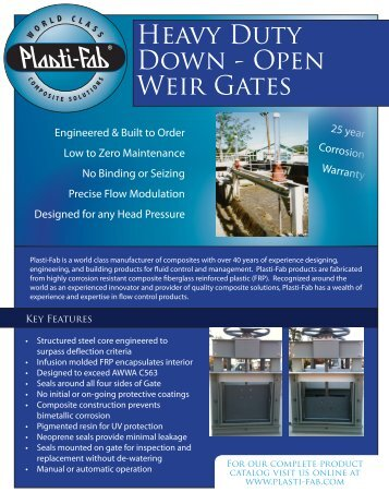 DG-3.04.12 - Down-Open Weir Gates.pdf - Plasti-Fab, Inc.