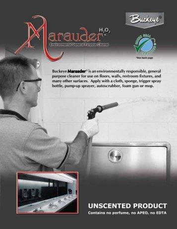 Marauder Unscented Product Literature - Buckeye International, Inc.