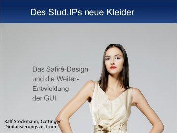 Des Stud.IPs neue Kleider - Das Safiré-Design und die ...