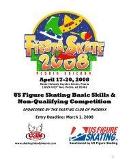 US Figure Skating Basic Skills & Non-Qualifying Competition