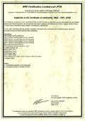 BRE Certification Limited and LPCB - Notifier - Page 2