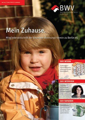 """""""Mein Zuhause."""" 2010.pdf - Beamten-Wohnungs-Verein zu Berlin eG"""