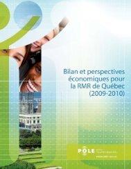 Bilan et perspectives économiques pour la RMR de ... - Gouvernance