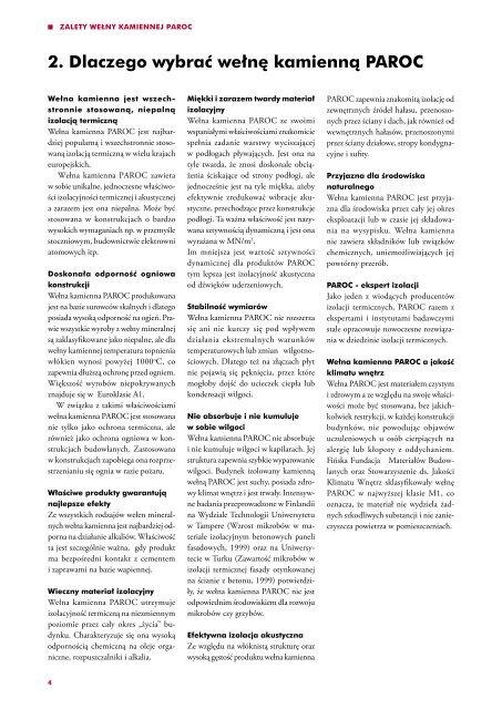 Izolacje podłóg od dźwięków uderzeniowych - Paroc.com