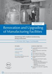 Renovation and Upgrading of Manufacturing Facilities