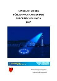 handbuch zu den förderprogrammen der europäischen ... - Waldviertel
