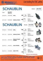 SCHAUBLIN SCHAUBLIN - Metalia