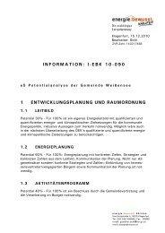 information: i-ebk 10-090 1 entwicklungsplanung und ... - Gitschtaler.at