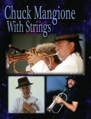 Chuck Mangione One Sheet (pdf) - Jim Wadsworth Productions