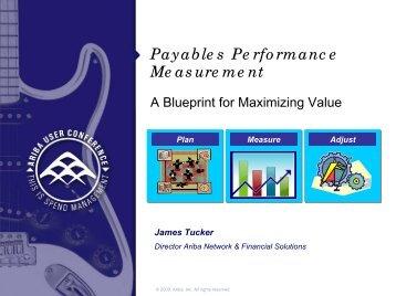 Payables Performance Measurement - Ariba Exchange