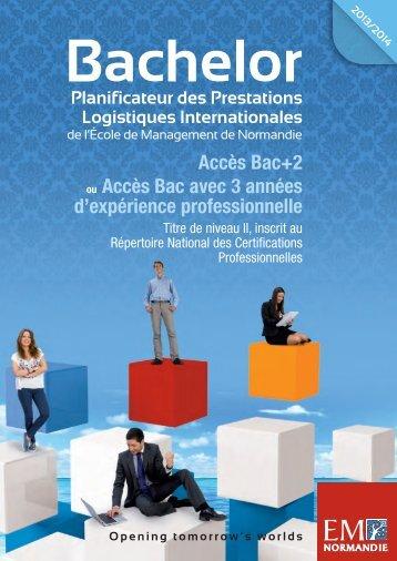 Télécharger la brochure de la formation - EM Normandie