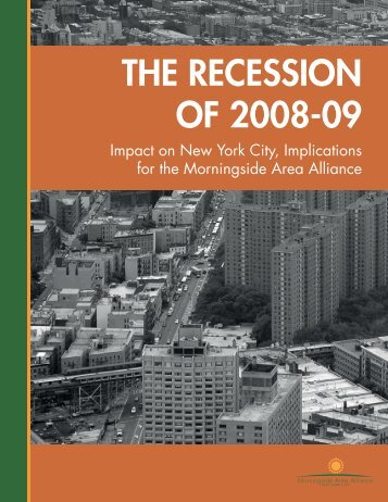 The Recession of 2008-09: Impact on New York City ... - Appleseed