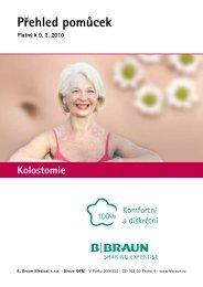 Podrobný přehled pomůcek − Kolostomie - Zelená hvězda