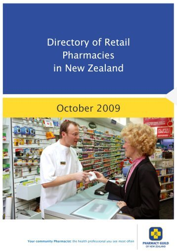 0800 775 725 - Pharmacy Guild of New Zealand