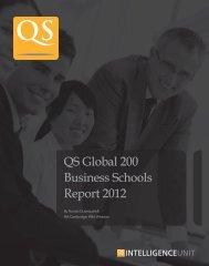 QS Global 200 Business Schools Report 2012